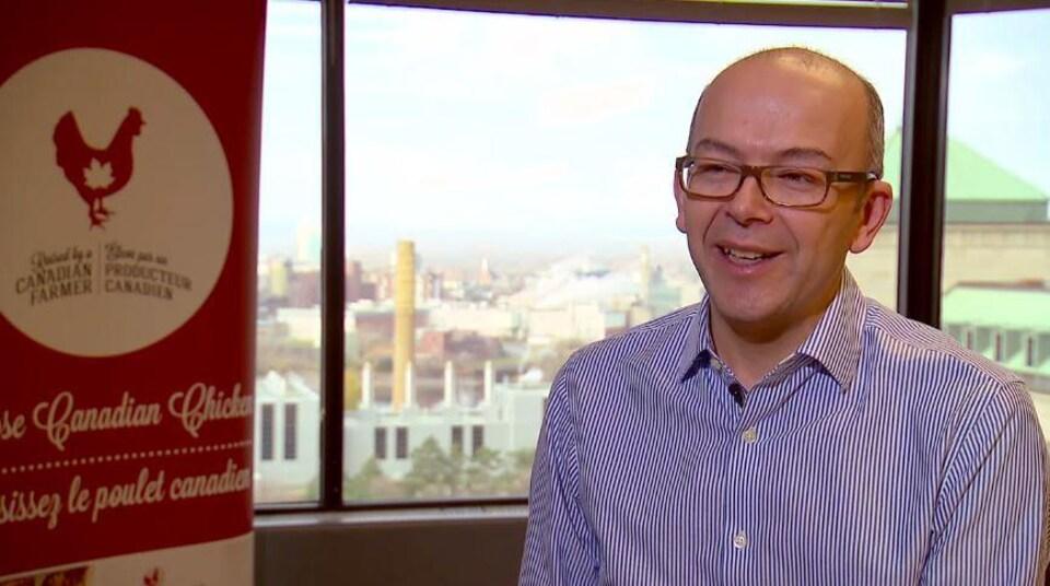 Yves Ruel, directeur du commerce et des politiques pour Les Producteurs de poulet du Canada