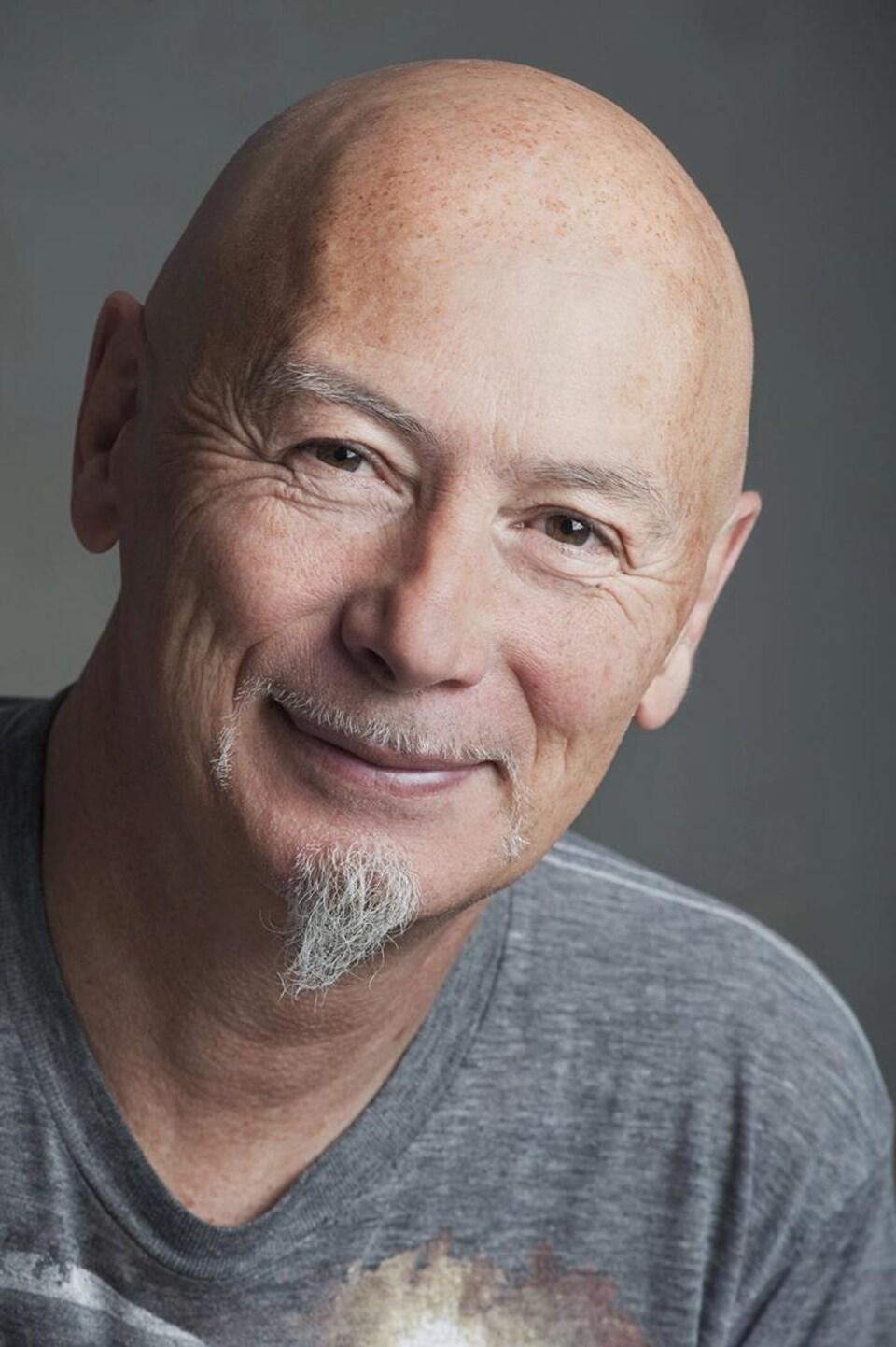 Yves Sioui Durand, dramaturge, cofondateur du Théâtre Ondinnok