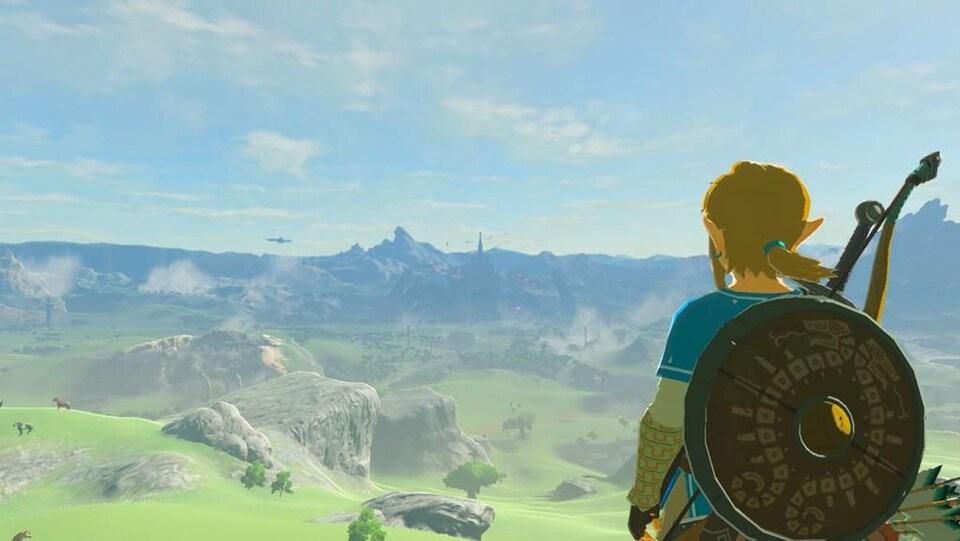 Une immense région à explorer s'ouvre aux joueurs. Le panorama est particulièrement saisissant.
