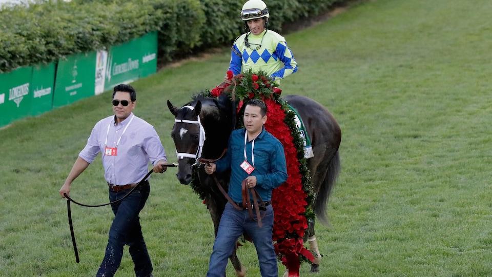 Le cheval Always Dreaming et le jockey John Velazquez