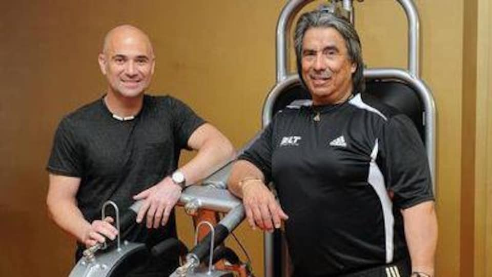 Andre Agassi et Gil Reyes
