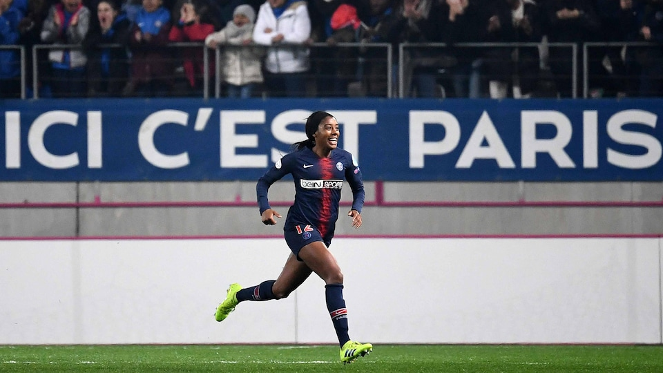 Ashley Lawrence avec le PSG