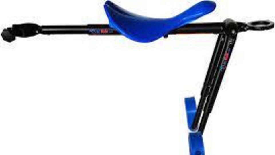 Un banc de vélo pour enfant de la compagnie canadienne Mac-Ride.