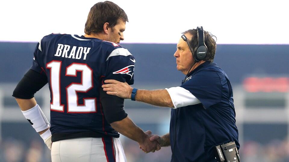 Tom Brady et Bill Belichick
