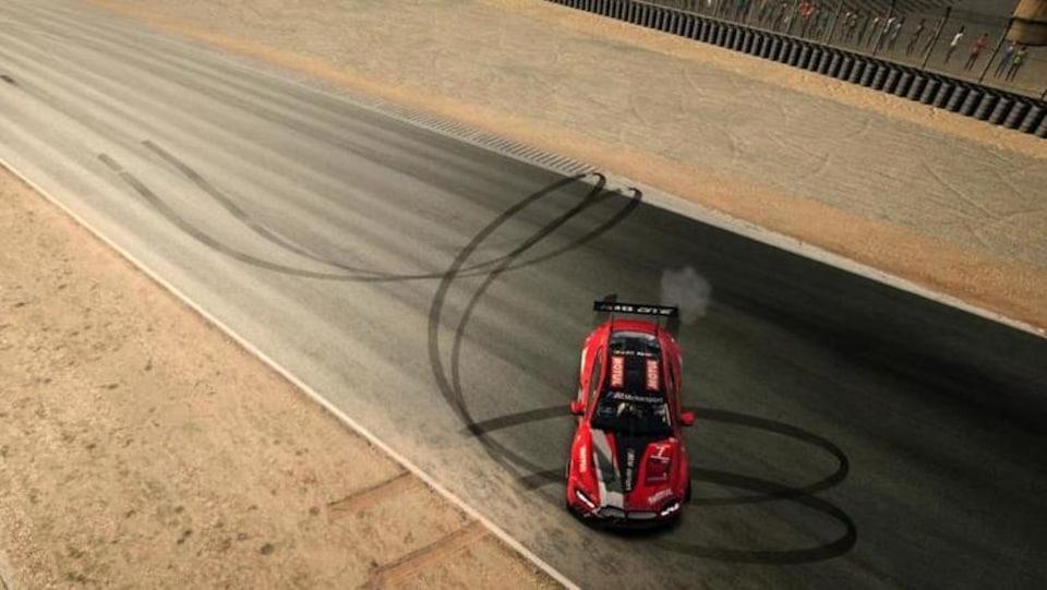 Bruno Spengler gagne la course virtuelle de Laguna Seca du Championnat IMSA.