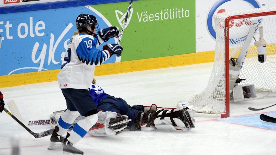 L'IIHF refuse le but de la Finlande en prolongation.