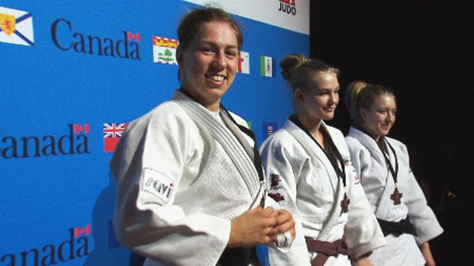Catherine Beauchemin-Pinard sur le podium des Championnats canadiens élite 2019
