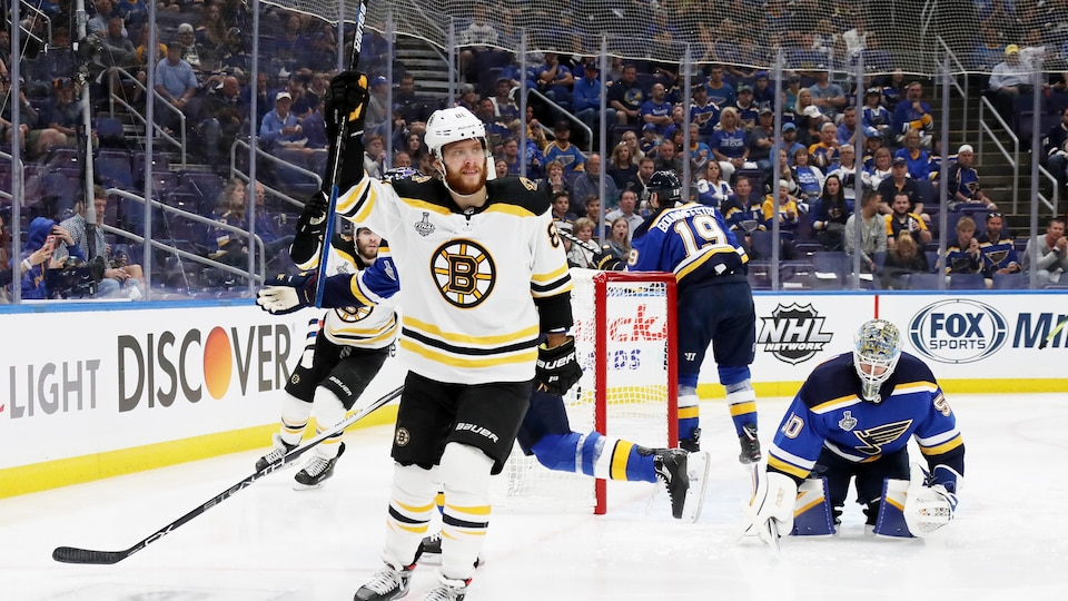 Coupe Stanley. Boston reprend l'avantage