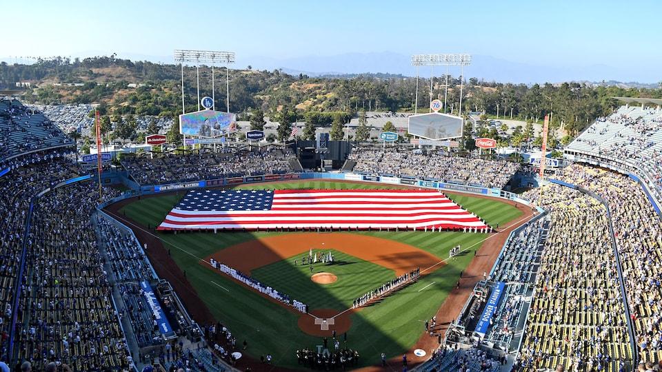 Le Dodger Stadium à Los Angeles