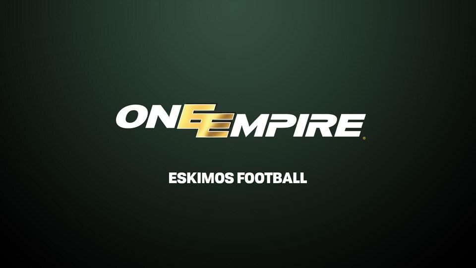 Logo utilisé par les Eskimos durant la campagne ONE EMPIRE