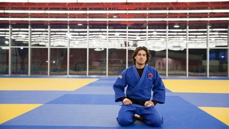 Le judoka Étienne Briand