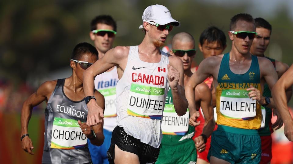 Evan Dunfee à Rio