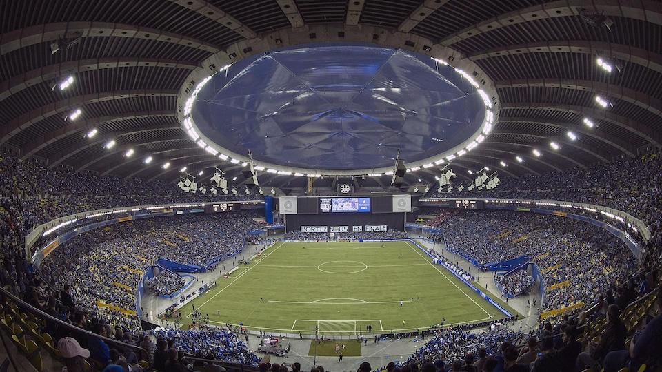 Finale de l'Est entre le Toronto FC et l'Impact de Montréal en 2016, au stade olympique