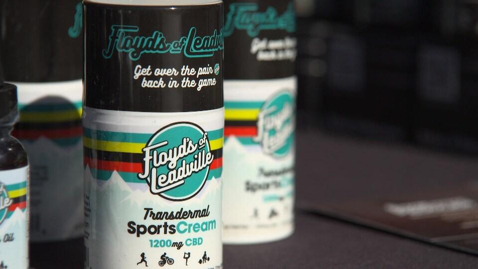 Une crème sportive de Floyd's of Leadville.