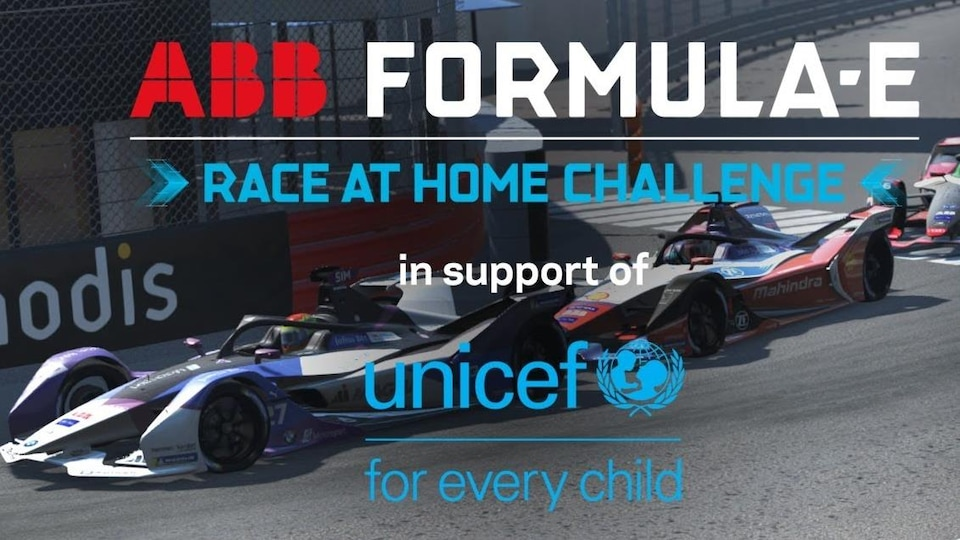 La formule E partenaire de l'UNICEF par le biais de son initiative virtuelle eSports