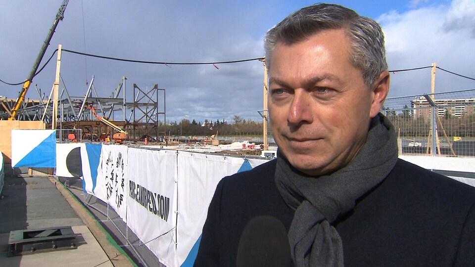 François Dumontier, président du Grand Prix du Canada