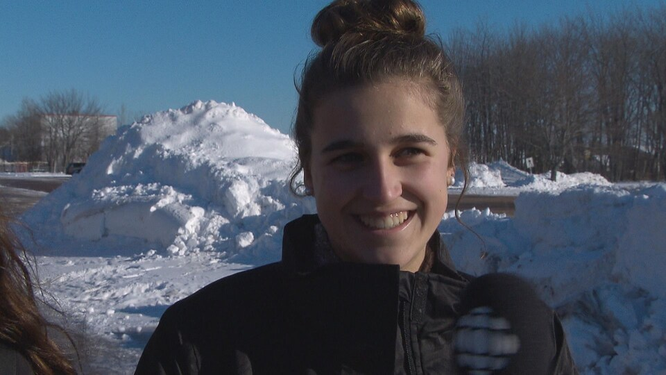 Geneviève Belliveau, defense équipe U16 Ringuette NB