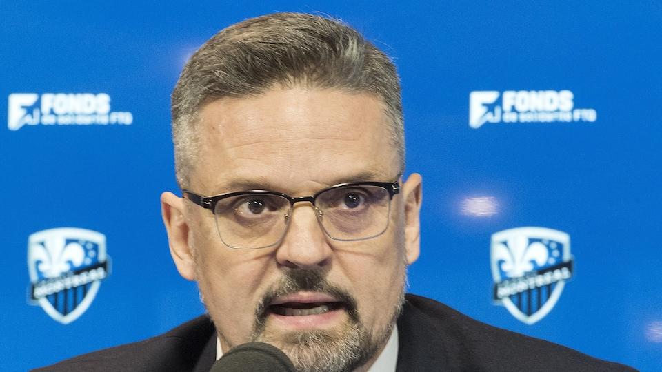 Le nouveau président de l'Impact de Montréal Kevin Gilmore