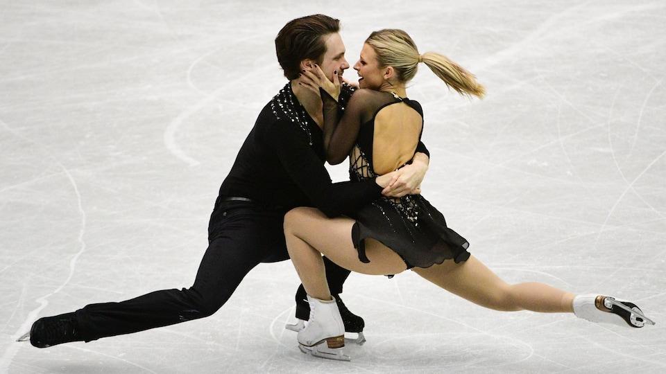 Kirsten Moore-Towers et Michael Marinaro.