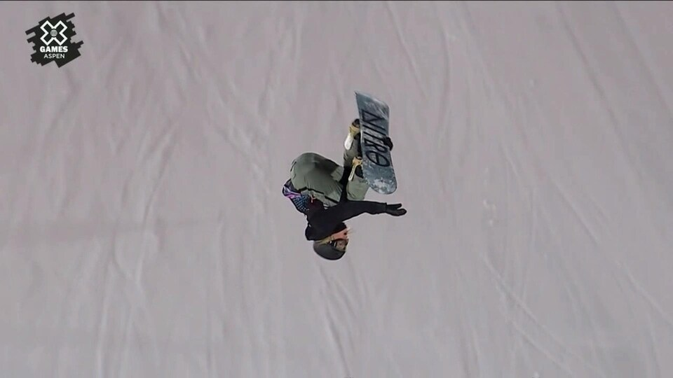 Laurie Blouin en action aux X Games
