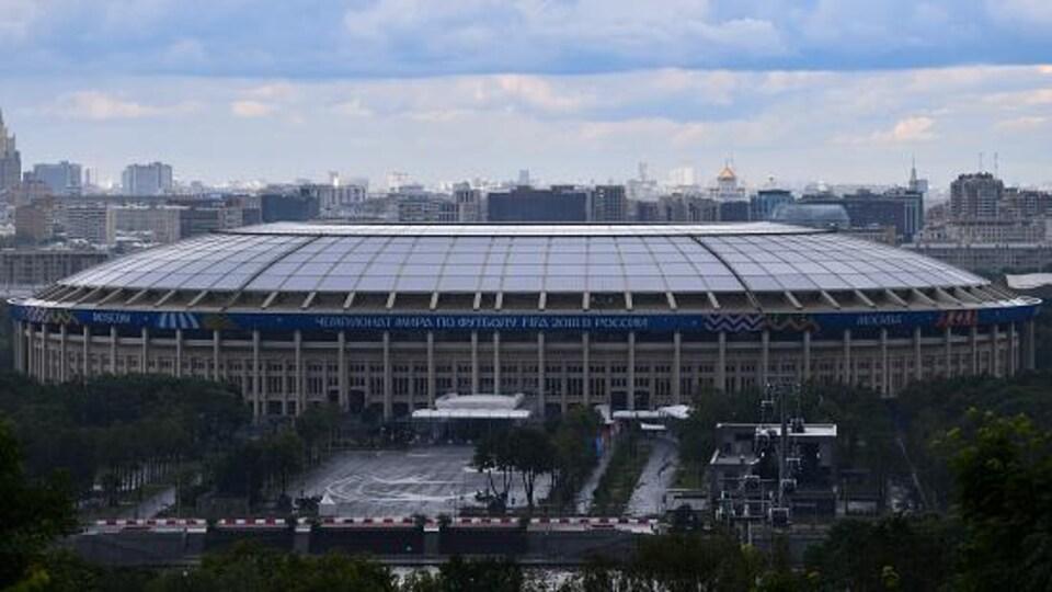 Le stade Luzhniki à Moscou accueillera des matchs de la Coupe du monde