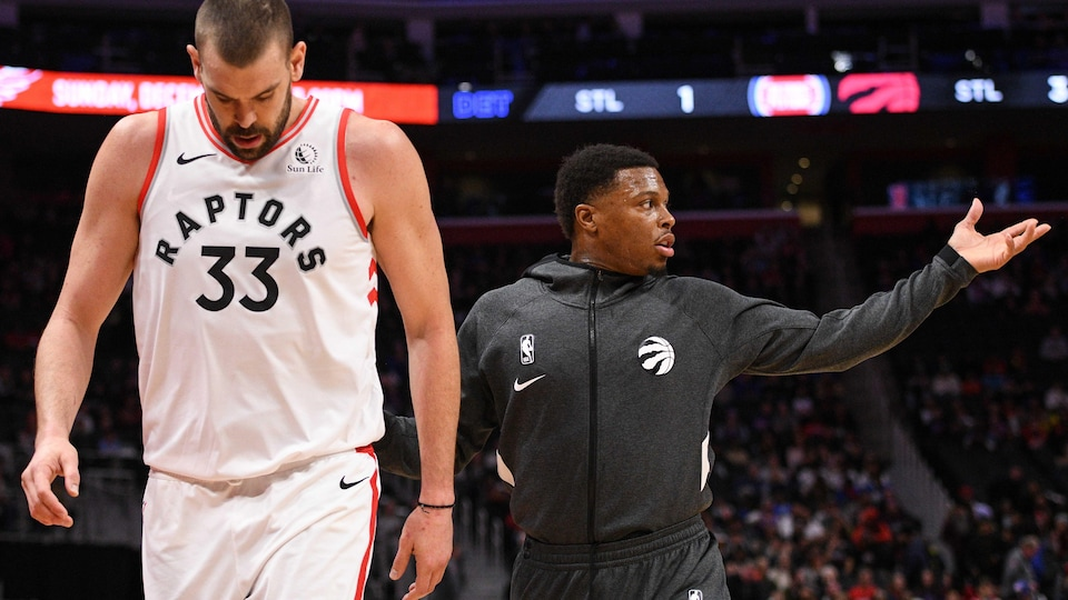 Kyle Lowry l'accompagne