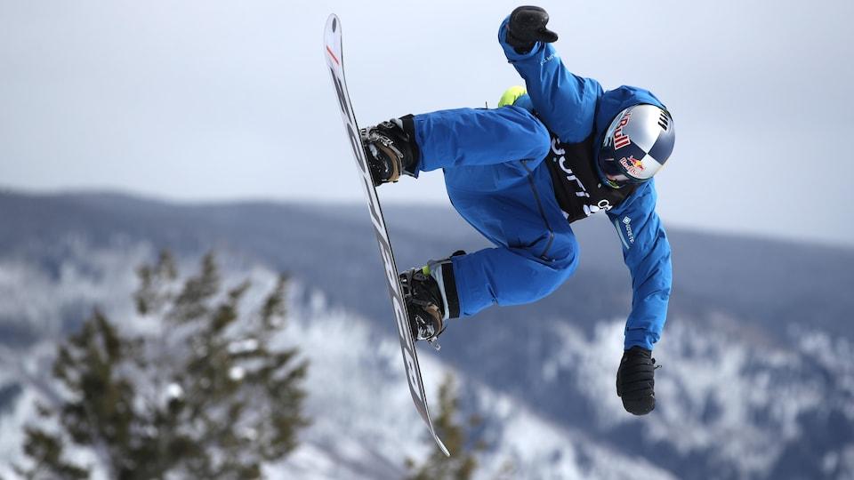 Mark McMorris aux X Games d'Aspen, au Colorado