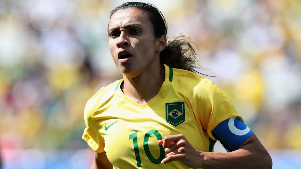 Marta, attaquante brésilienne