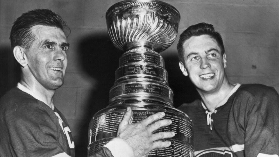 Maurice Richard était le capitaine du Canadien lors de sa dernière saison en 1959-1960.