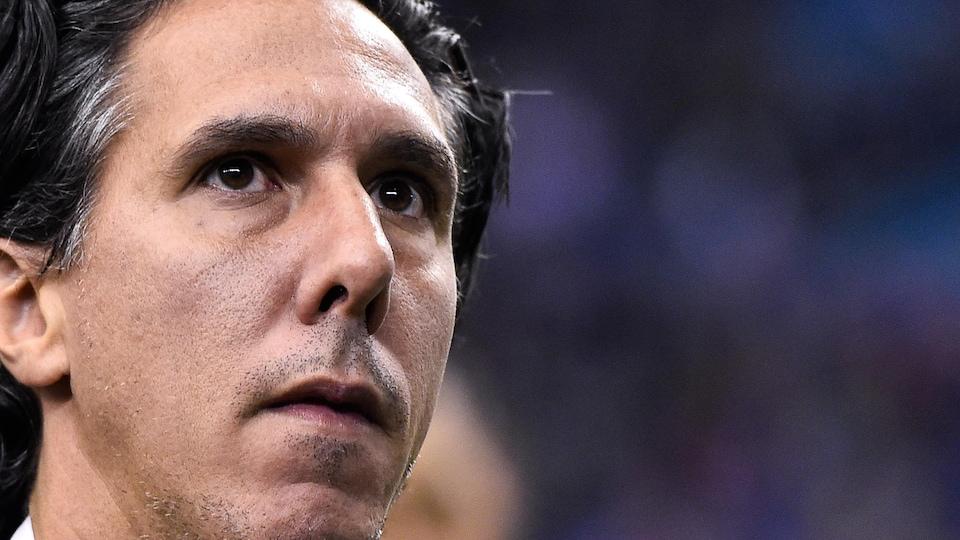 L'entraîneur-chef de l'Impact de Montréal Mauro Biello
