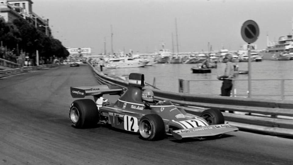 Niki Lauda en 1974 à Monaco