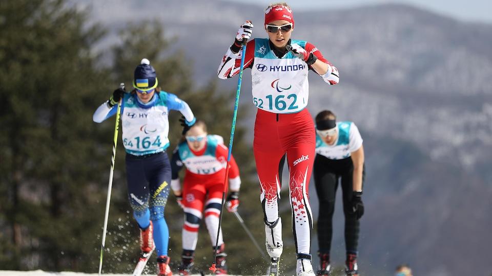 Natalie Wilkie a remporté le bronze au sprint classique en position debout de paraski de fond à Pyeongchang.
