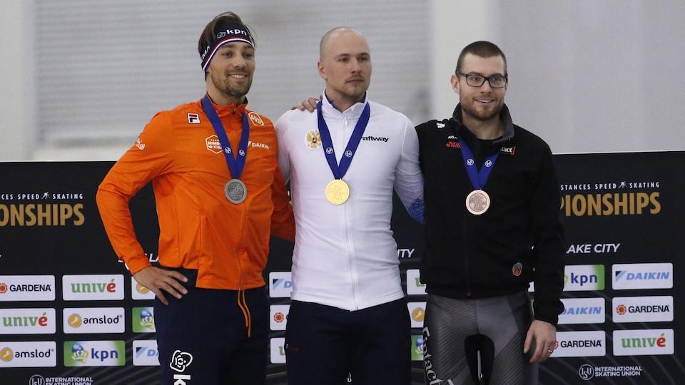 Il s'agit d'une première médaille pour Dubreuil dans cette épreuve aux mondiaux.