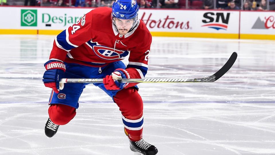 Phillip Danault signe un contrat de trois ans avec le Canadien.