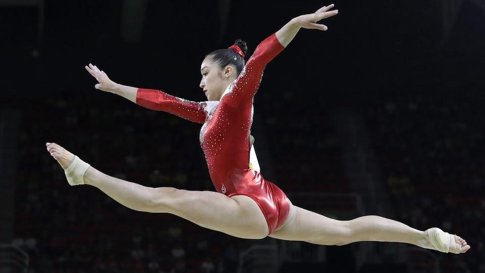 Rose Woo aux Jeux de Rio