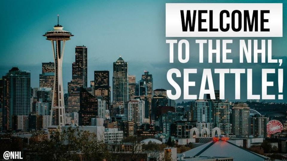 Seattle aura son équipe d'expansion