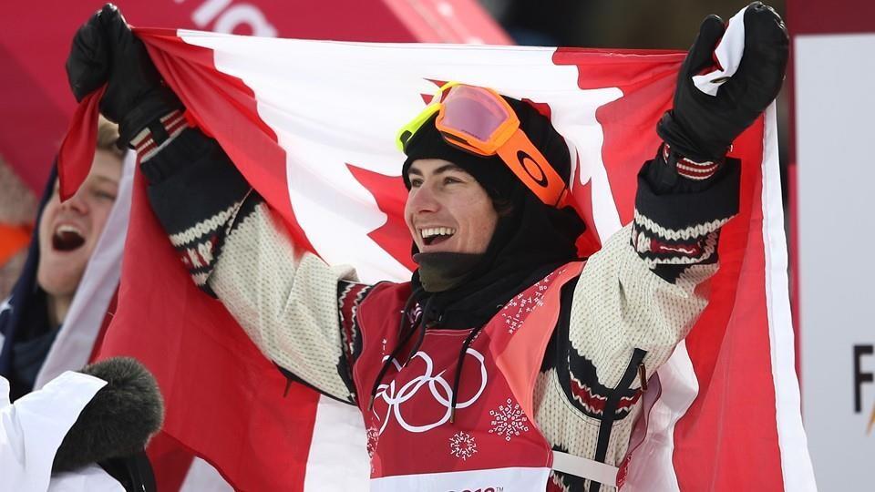 Sébastien Toutant savoure sa première victoire olympique.