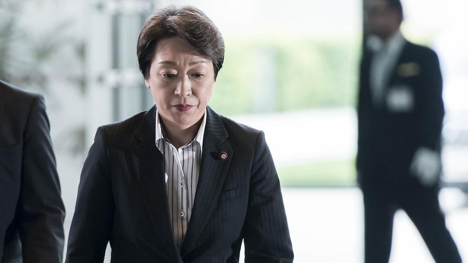 La présidente du Comité organisateur des Jeux olympiques de Tokyo 2020, Seiko Hashimoto.