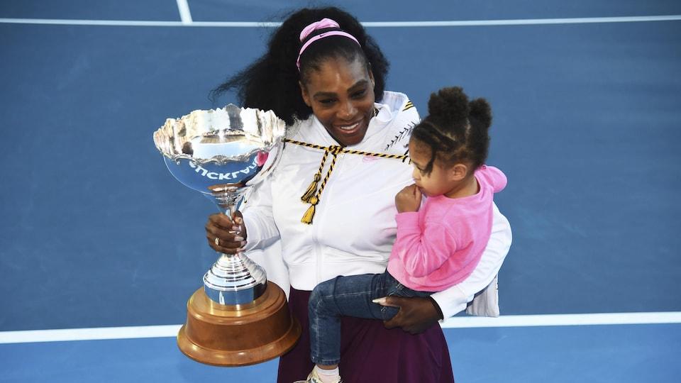 Serena Williams avec sa fille Alexis Olympia Ohanian