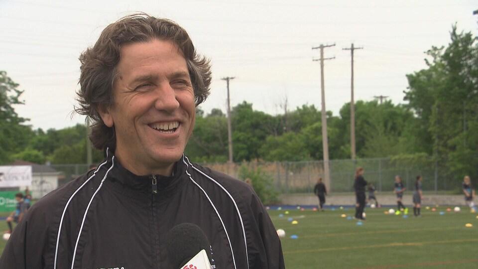 Le directeur technique régional de Soccer Laurentides, Armando Melo