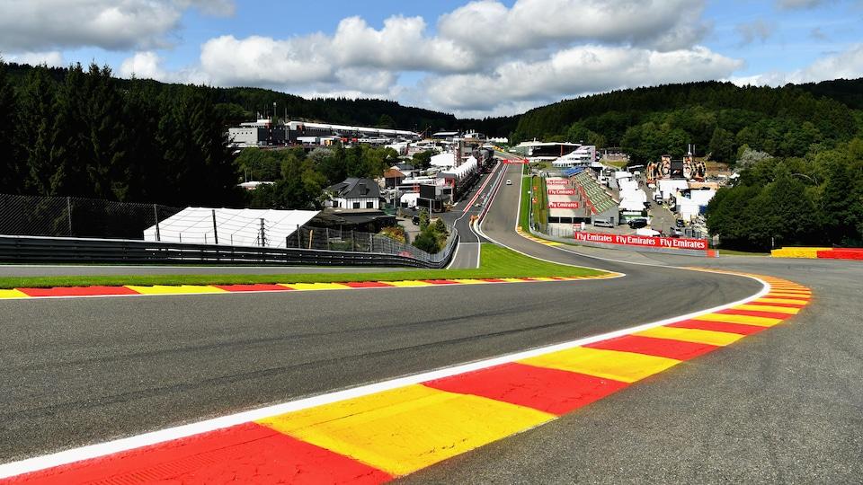 Le circuit de Spa-Francorchamps