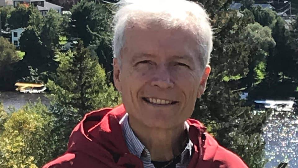 Le directeur général du Parc d'une rive à l'autre, Denis Caouette.