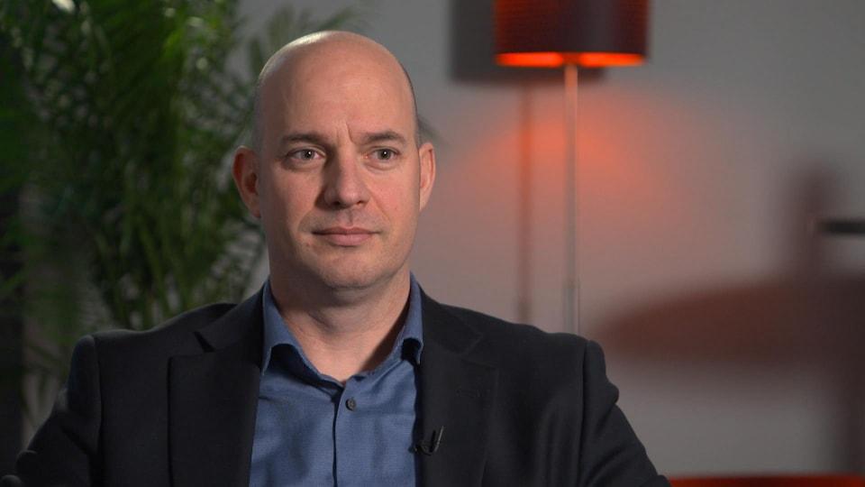 Alain Fortier en entrevue à Radio-Canada Sports