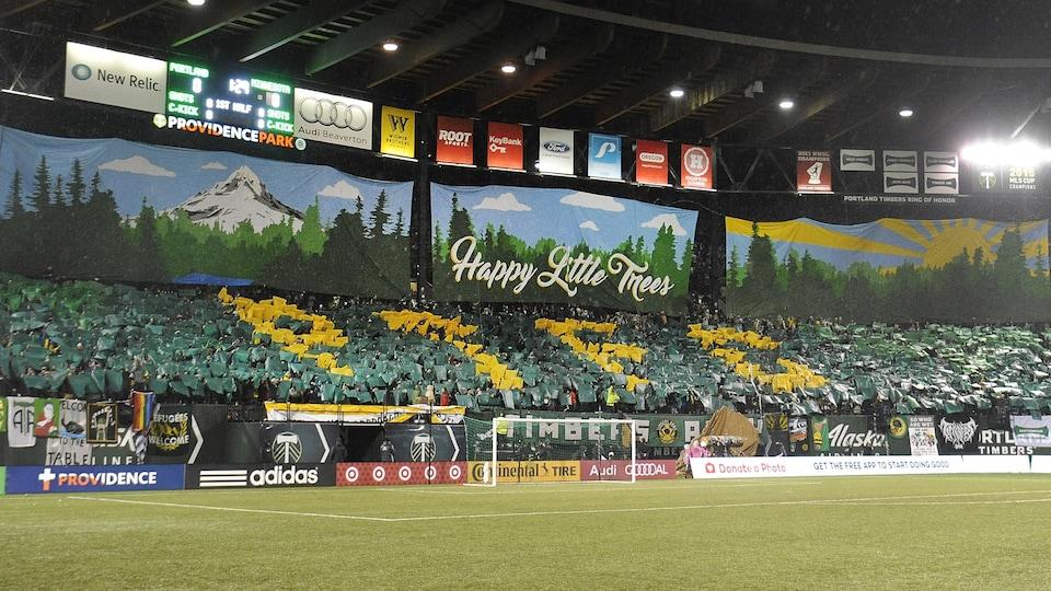 Le Providence Park, stade des Timbers de Portland