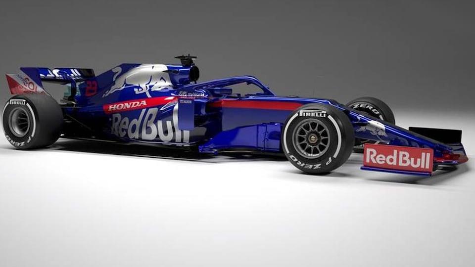 La STR14 de l'équipe Toro Rosso pour la saison 2019