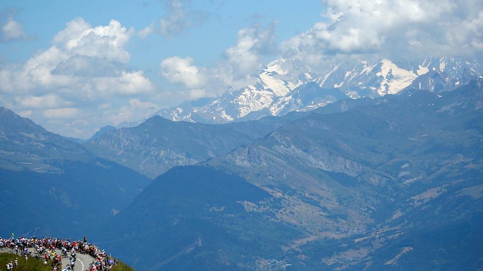 L'étape du Tour de France à l'Alpe d'Huez