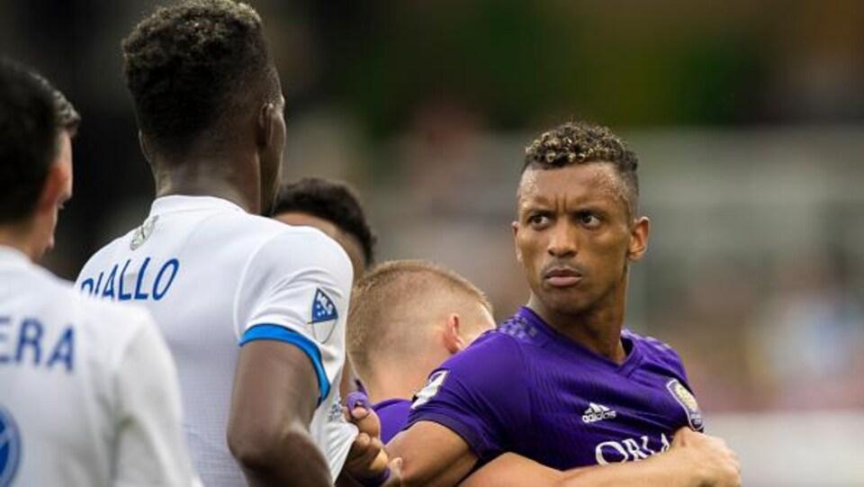Intense confrontation entre Zakaria Diallo et Nani