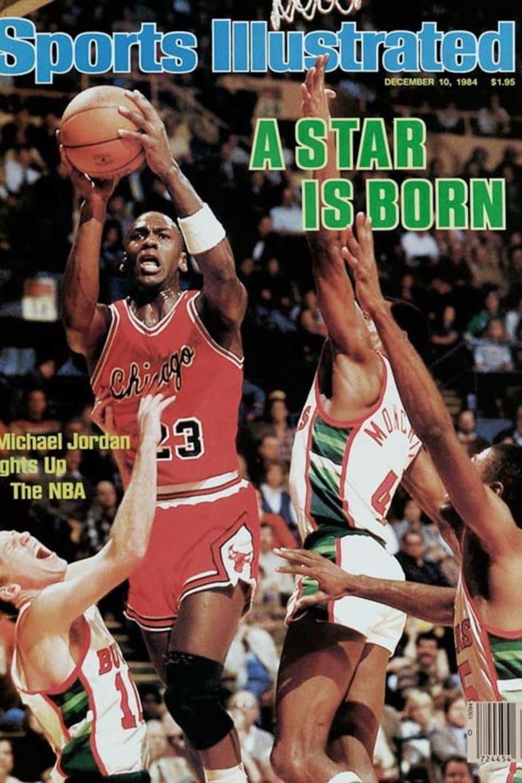 Michael Jordan est en couverture