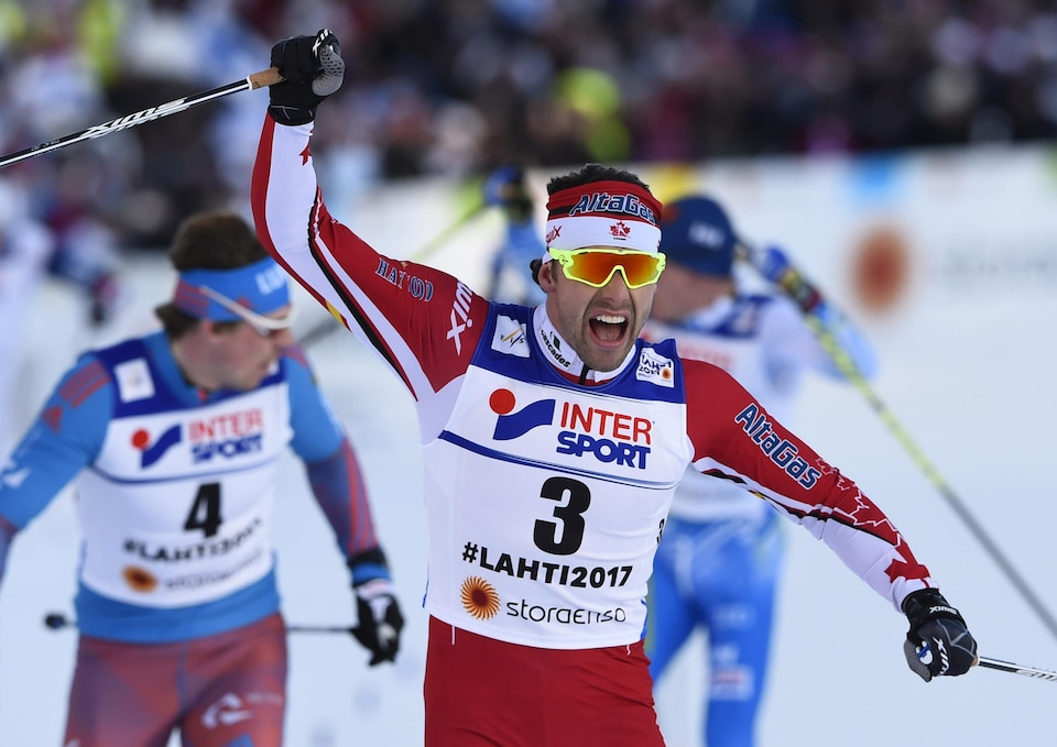 Alex Harvey, champion du monde à Lahti