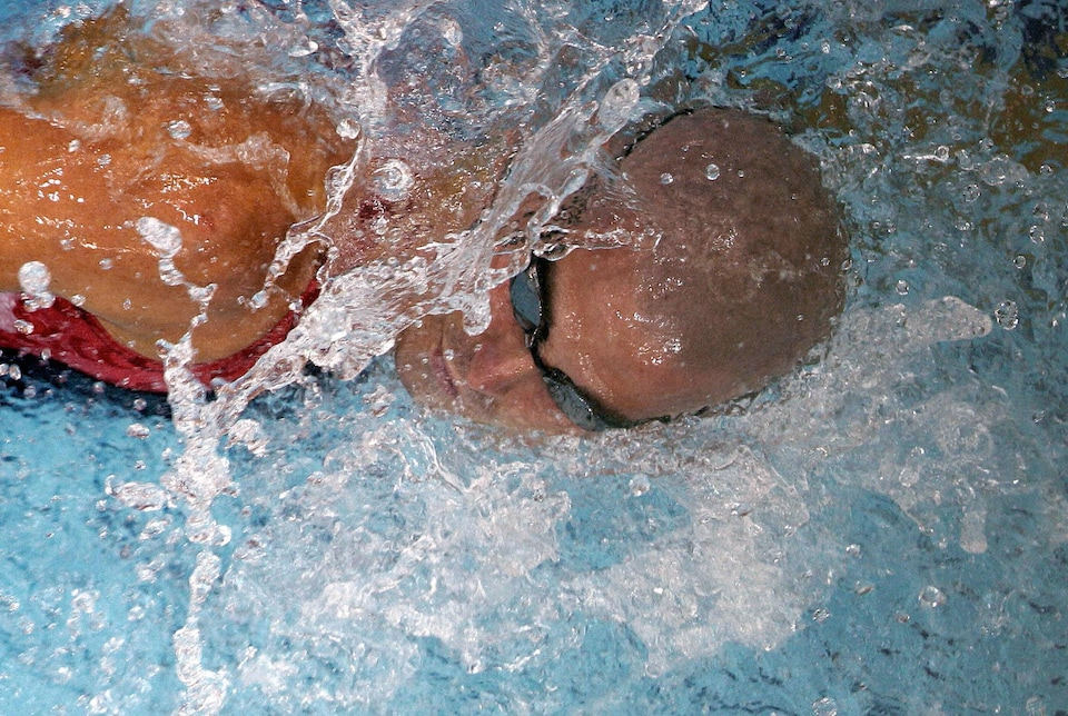 Le nageur paralympique Benoît Huot